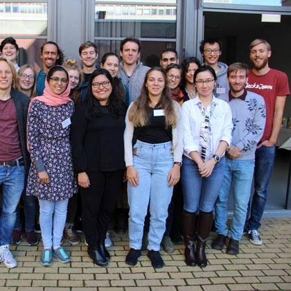 Gruppenfoto SmartStart Jahrgang 2018/2019 / Group picture of SmartStart students from 2018/2019