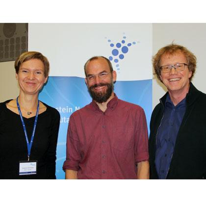 v.l./from left: S.Schreiber, H. Sprekeler, A. Herz