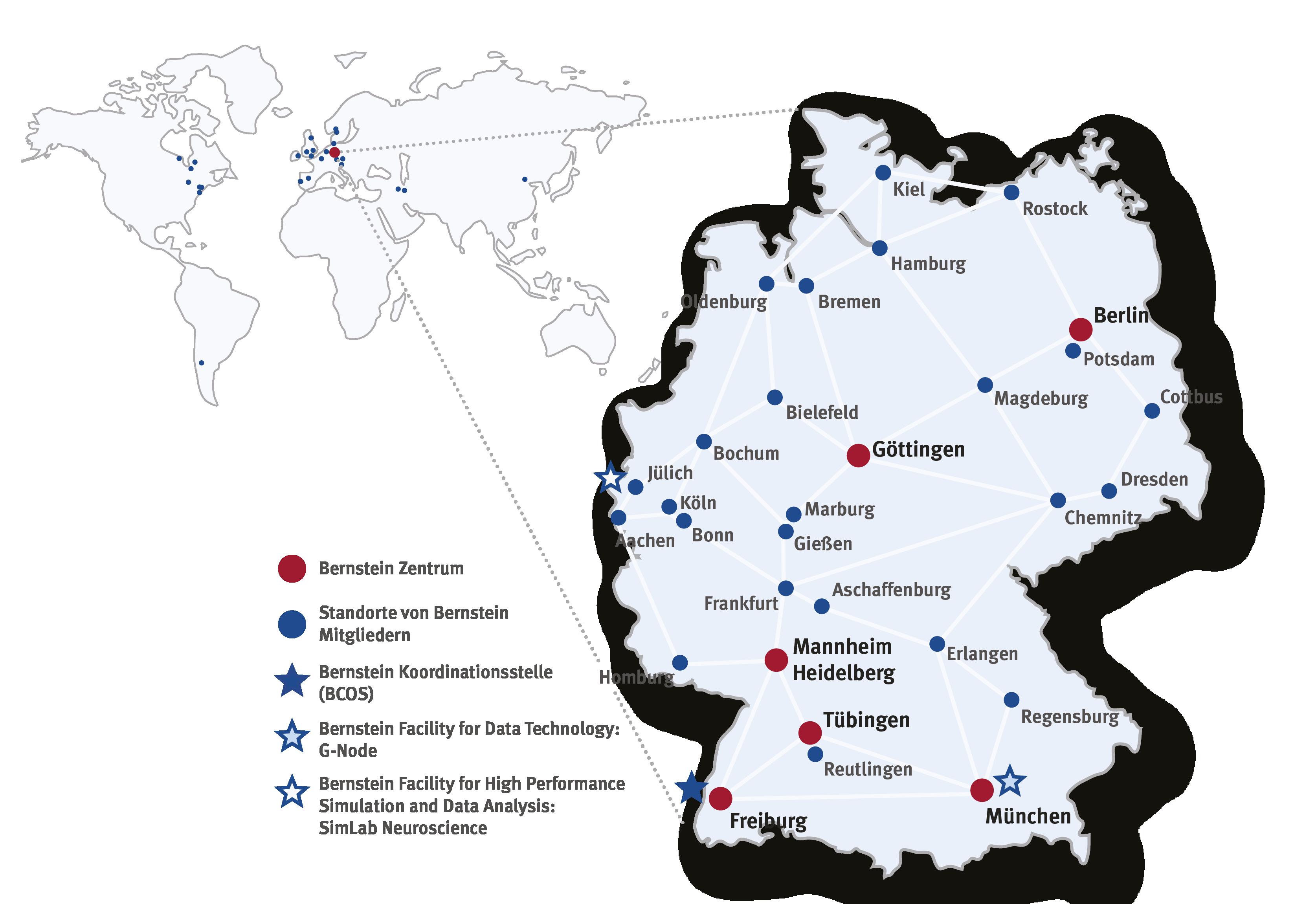 Weltkarte DE 201912